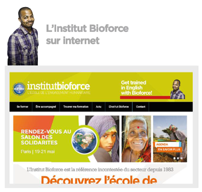 Institut bioforce sur internet