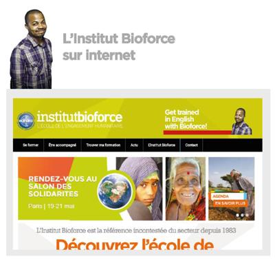 Institut bioforce sur internet